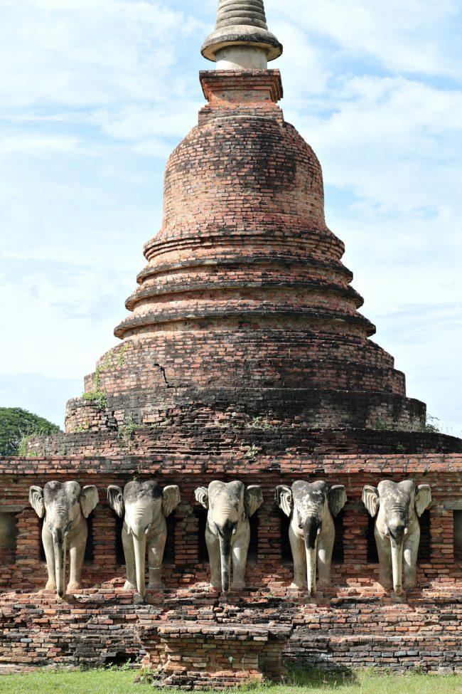 elefantentempel sukhothai