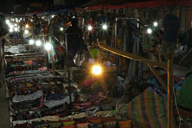 nachtmarkt luang prabang