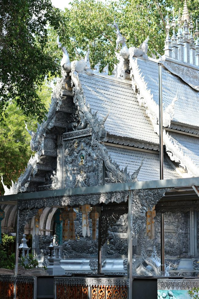 silberner tempel chiang mai