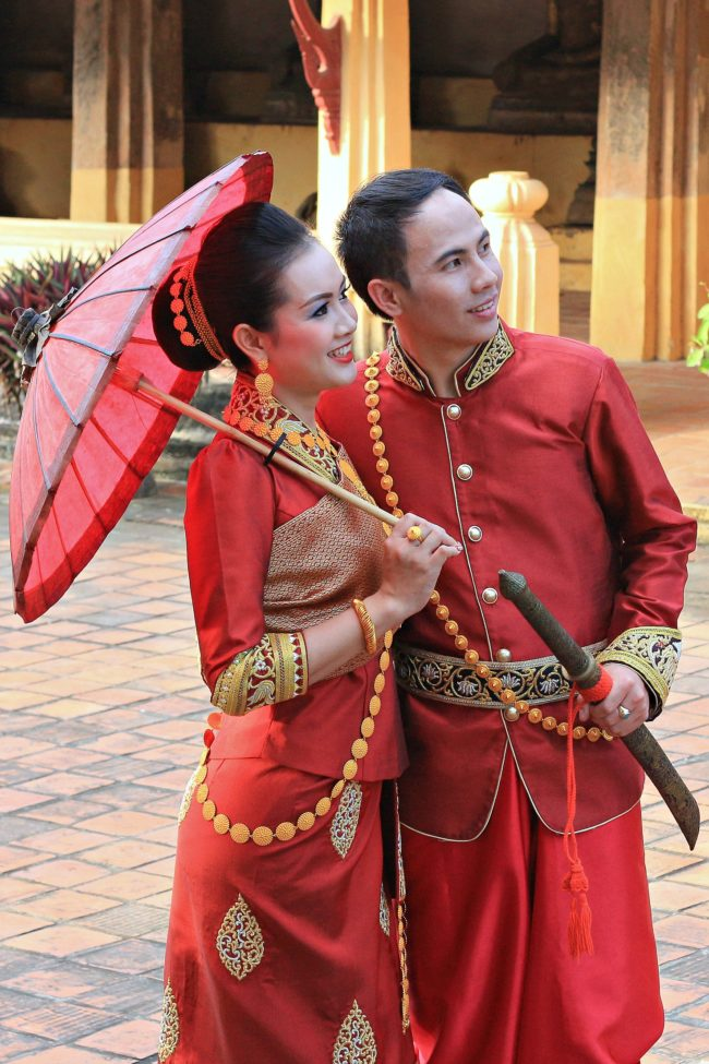 Laos Hochzeit