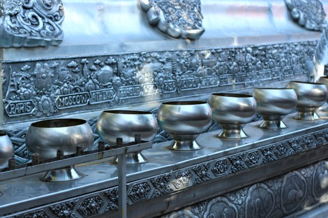 silberner tempel