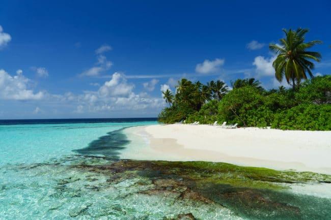 türkise lagune