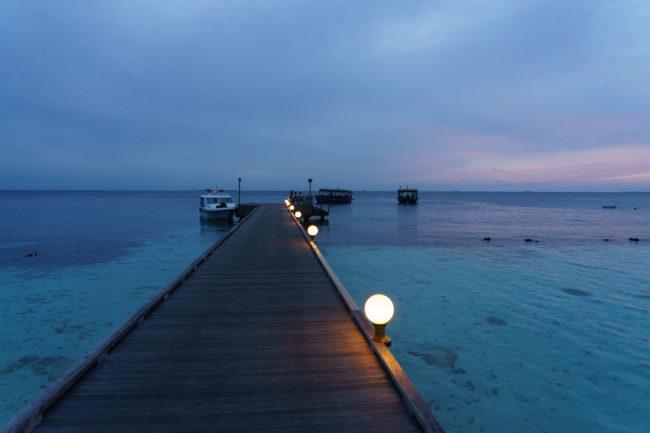 malediven sonnenaufgang